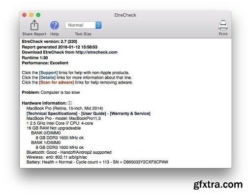 EtreCheck 4.0.1 (macOS)