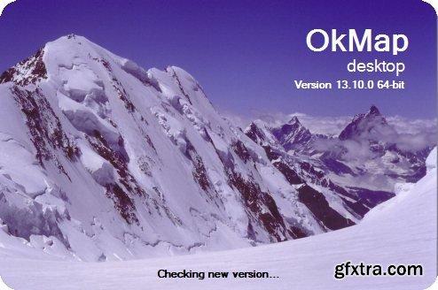 OkMap Desktop 13.10.0 Multilingual Portable