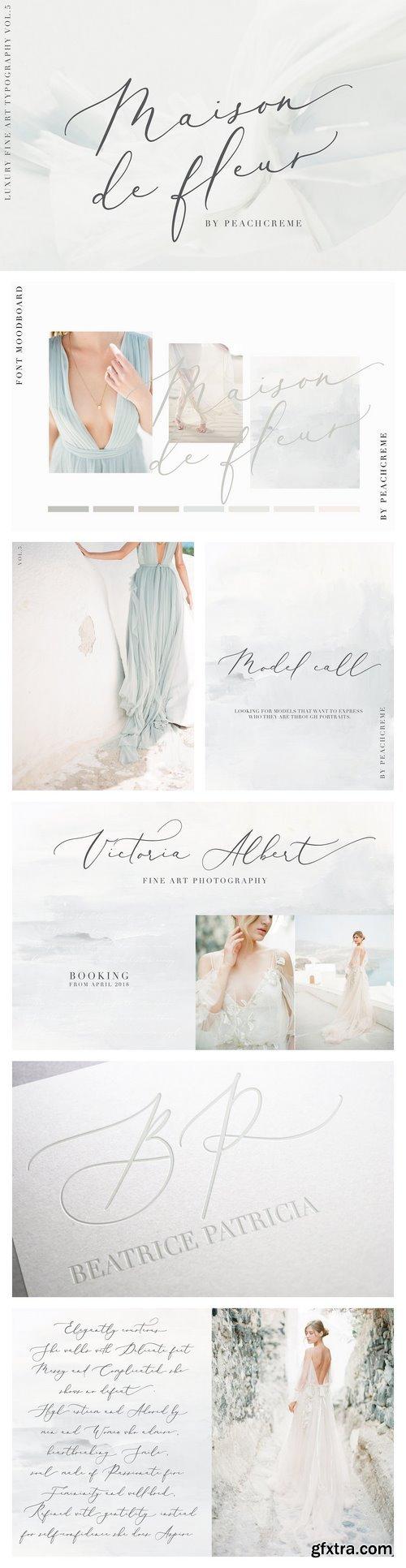 CM - Maison de fleur_Luxury Script Font 2092082
