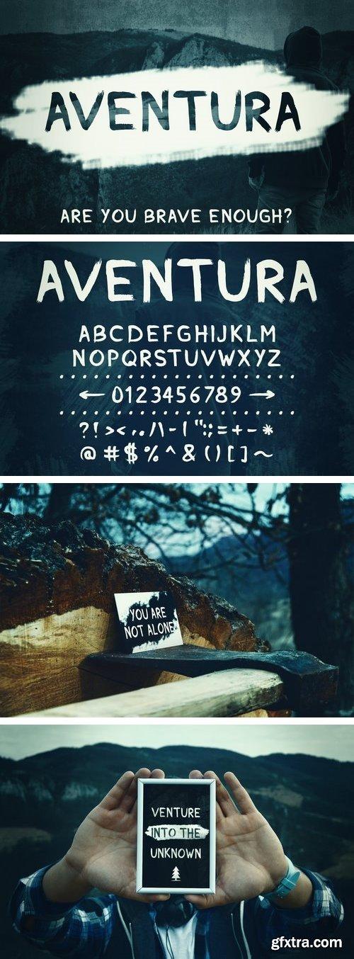 CM - Aventura - Handmade Font 1512081