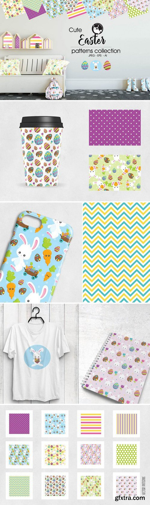 CM - EASTER Pattern collection 2024402