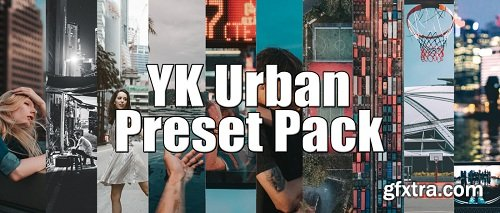 Creator Presets - YK Urban Lightroom Preset Pack