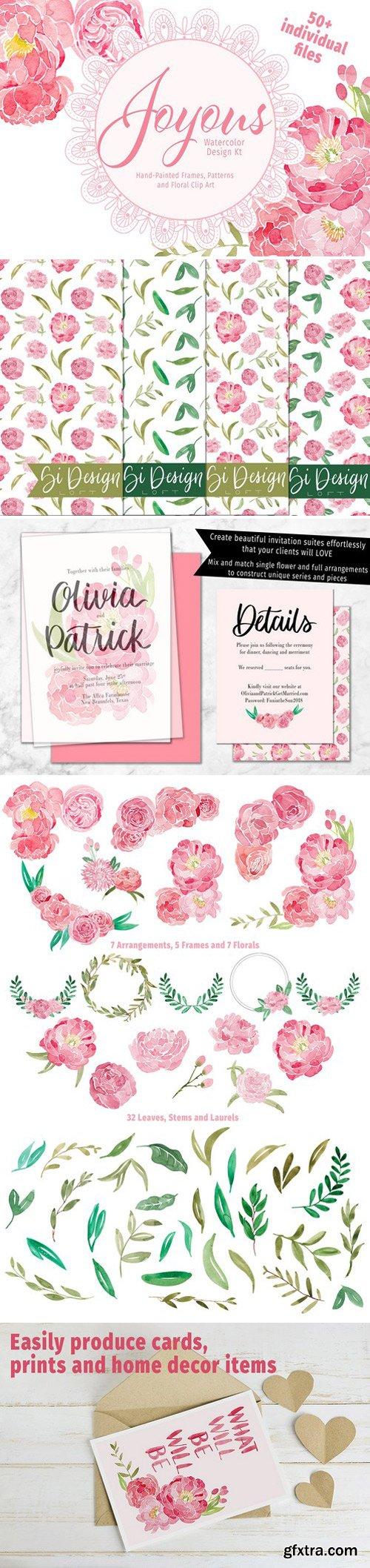 CM - Joyous Watercolor Design Kit 2254968
