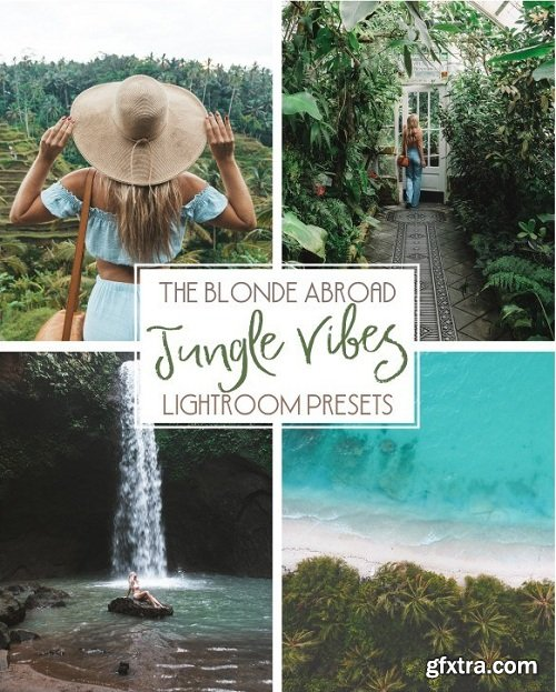 The Blonde Jungle Vibes Lightroom Presets