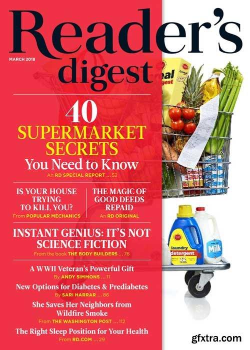 Reader\'s Digest USA - March 2018