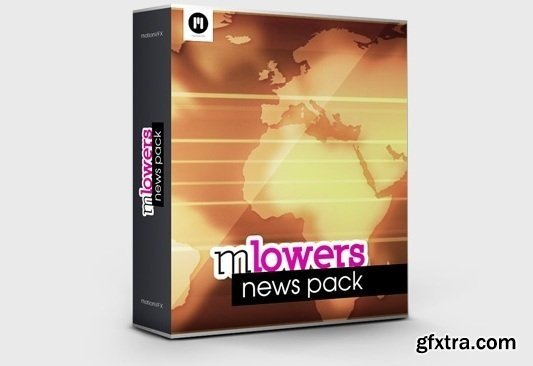 MotionVFX - mLowers News Pack for Final Cut Pro X and Motion 5 (macOS)