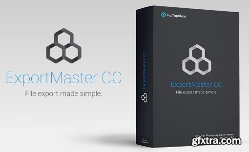 ExportMaster CC Plug-in for Adobe Photoshop