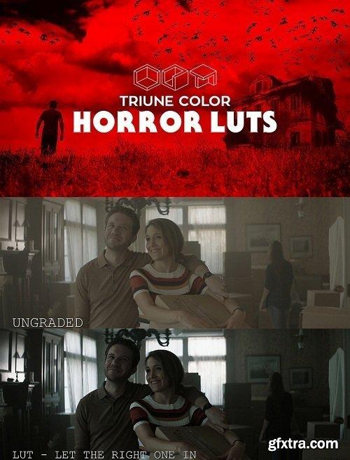 Triune Color: Horror LUTs (Win/Mac)