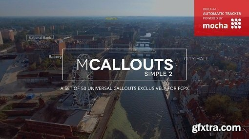 MotionVFX - mCallouts Simple 2 for Final Cut Pro X (macOS)