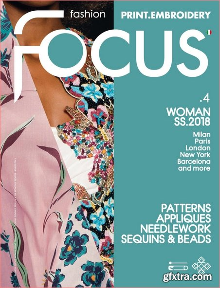 Fashion Focus Woman Print.Embroidery - March 2018