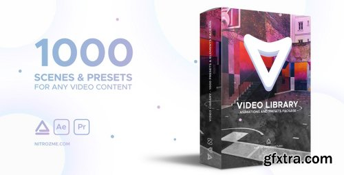 Videohive Video Library - Video Presets Package 21390377