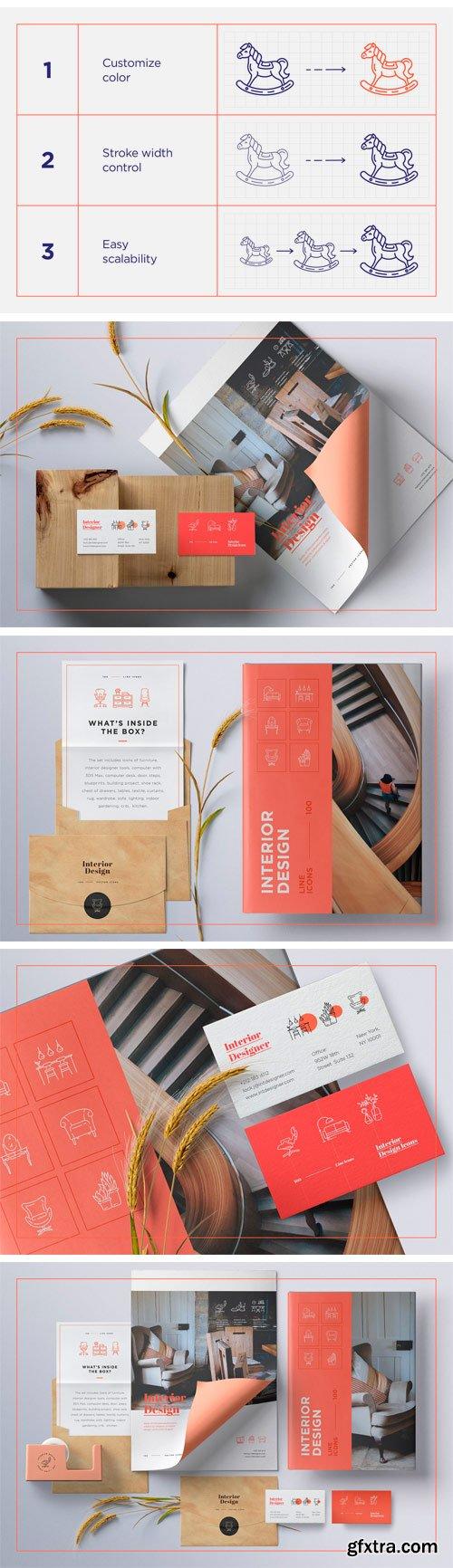 CM - Interior Design Icons Set 2272243