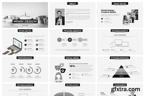 CreativeMarket 15-in-1 Presentation Bundle 2319697