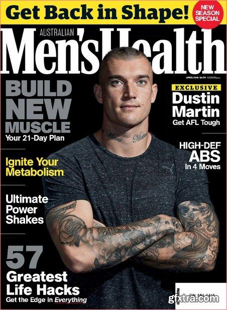 Men\'s Health Australia - April 2018