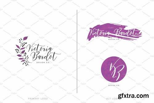 CM - Feminine Logo & Branding Pack 2286011