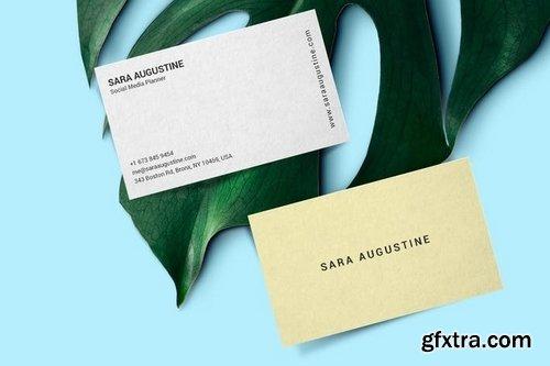 Social Media Planner Business Card