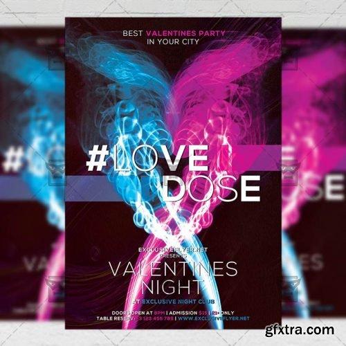 Love Dose – Seasonal A5 Flyer Template