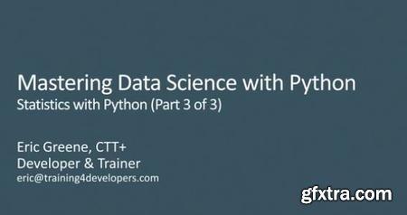 Statistics with Python, Part 3