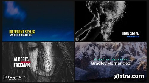 Videohive Essential Titles and Lower Thirds V3 20681372