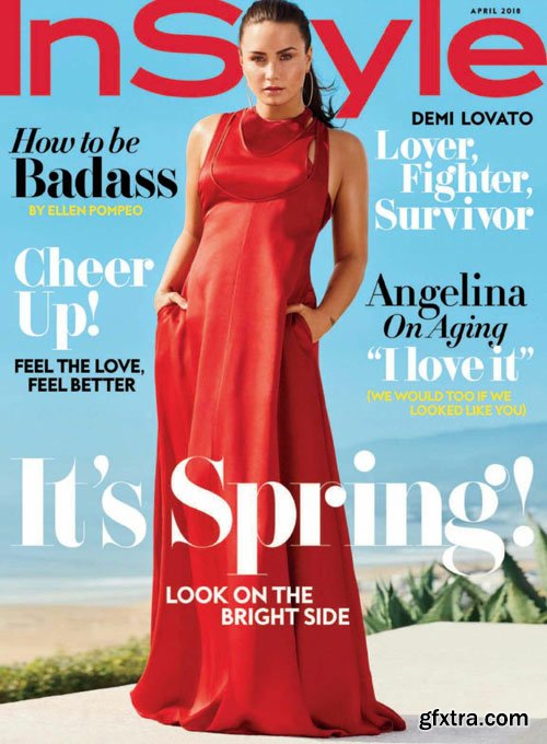 InStyle USA - April 2018