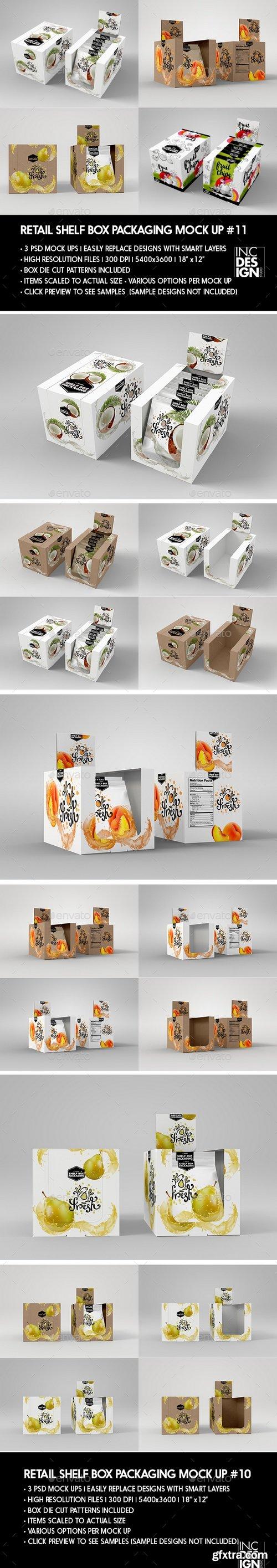 Graphicriver - Retail Shelf Box Packaging MockUp No.11 20536122
