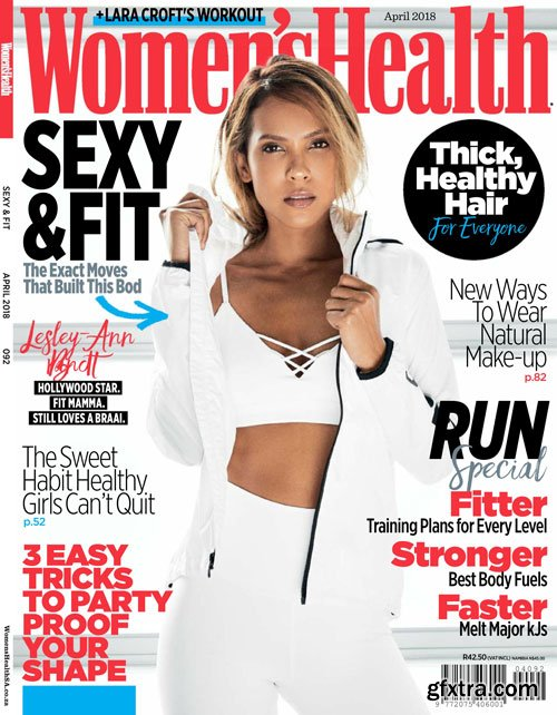 Women\'s Health South Africa - April 2018