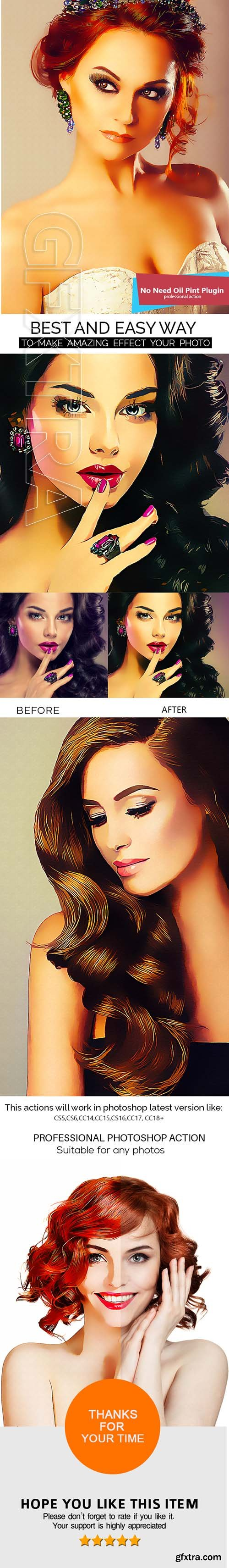GraphicRiver - Smart Painting Photoshop Action 21507784