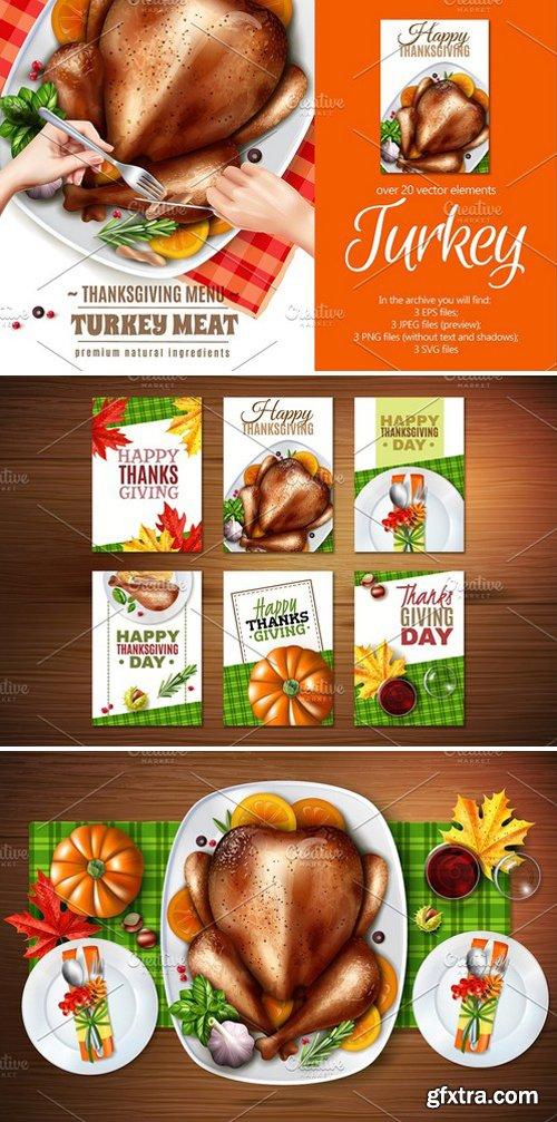 CM - ThanksGiving Turkey Set 2321373