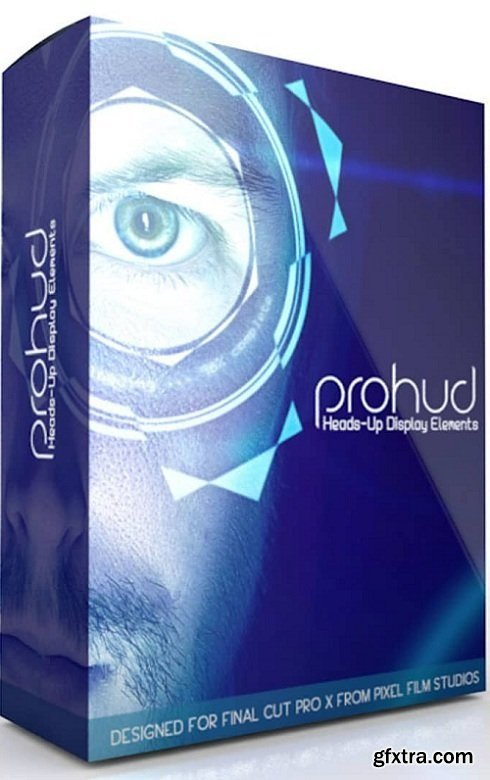Pixel Film Studios - ProHud: Volume 1 - Professional Heads-Up Display Elements for FCPX macOS