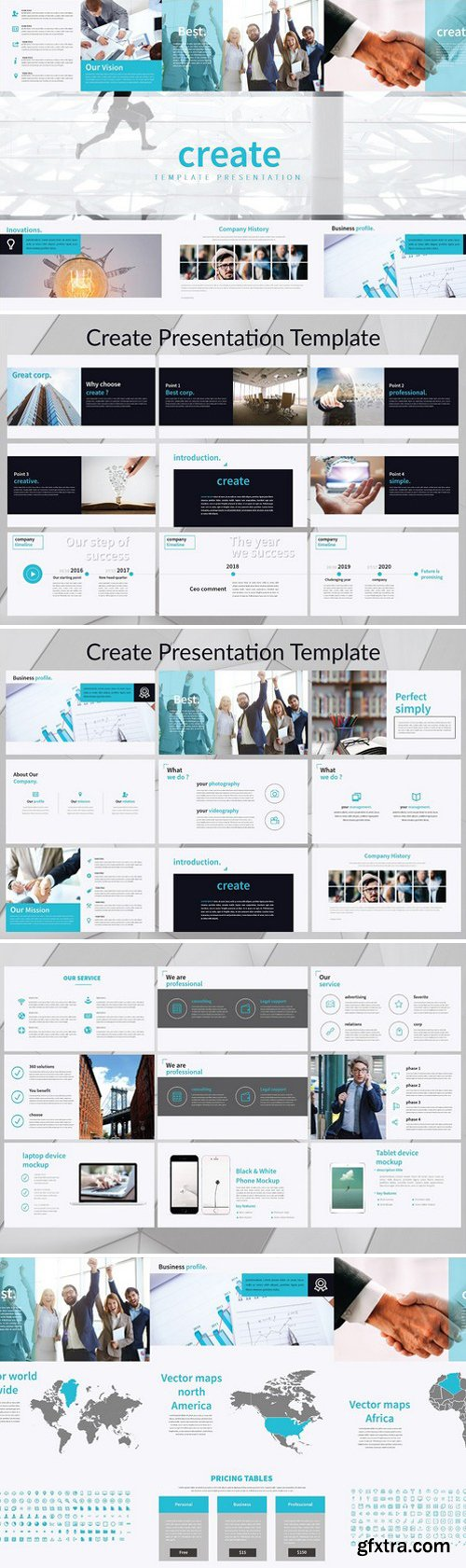 CM - Create Presentation Template 2322265