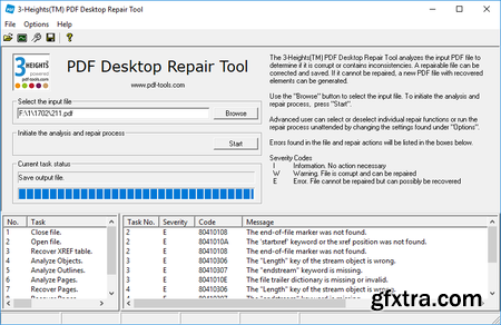3-Heights PDF Desktop Repair Tool 5.9.1.5 (x64) Portable