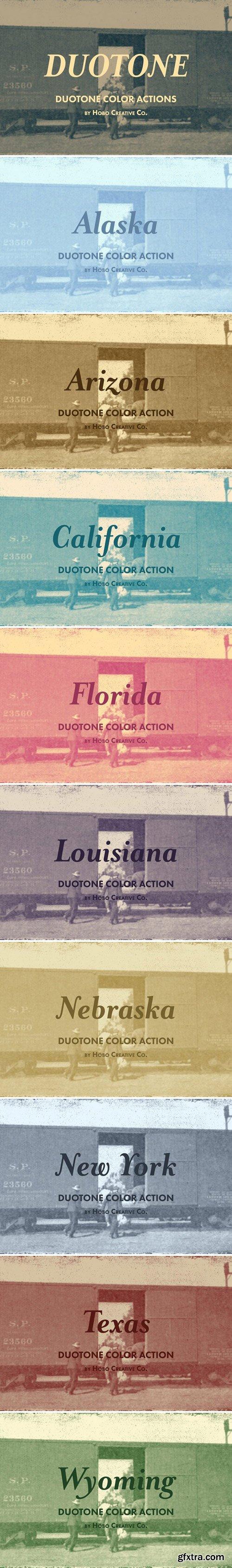 CM - Duotone Color Actions 2340174