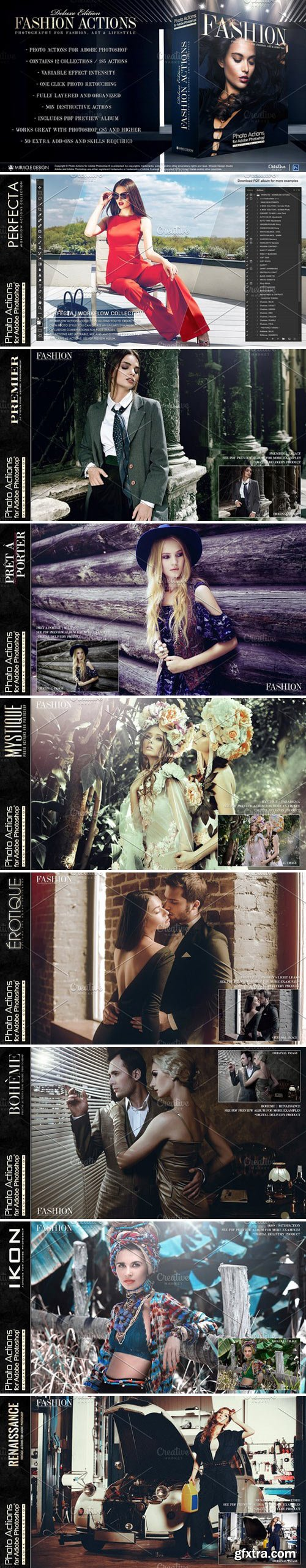 CM - Actions for Photoshop / Fashion 2340029