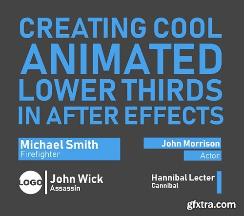How to create cool animated lower thirds in After Effects