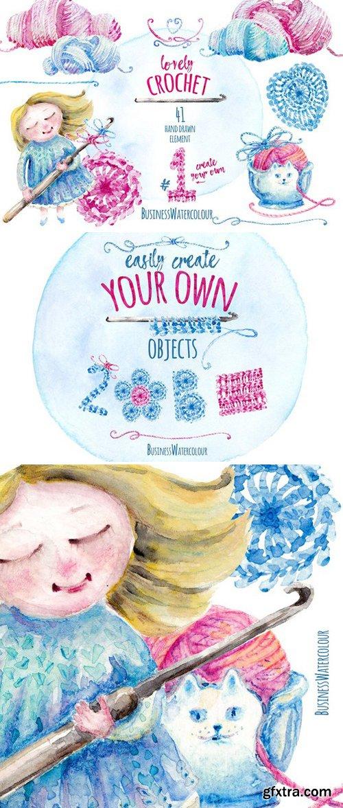 CM - Lovely Crochet Clipart #1 2340107