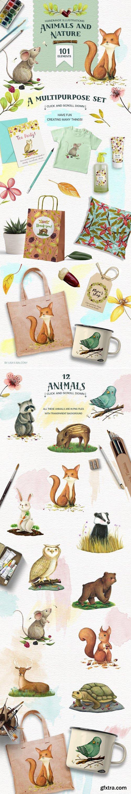 CM - Animals and Nature - Design Kit 1595241