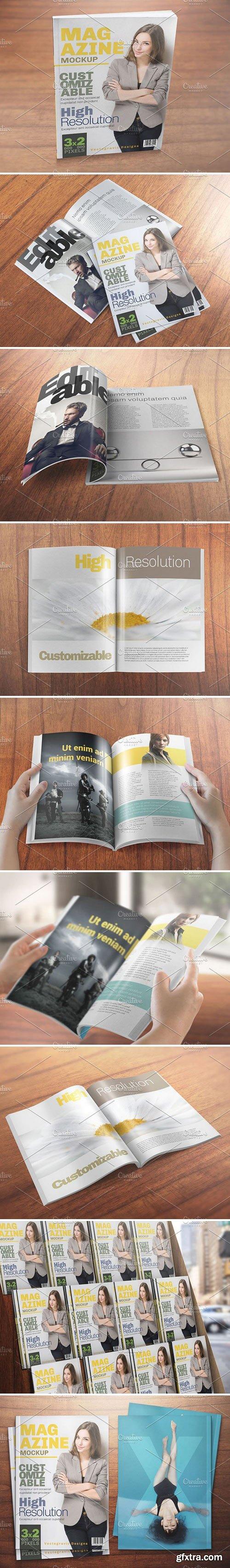 CM - Realistic Magazine Mockups 1590777