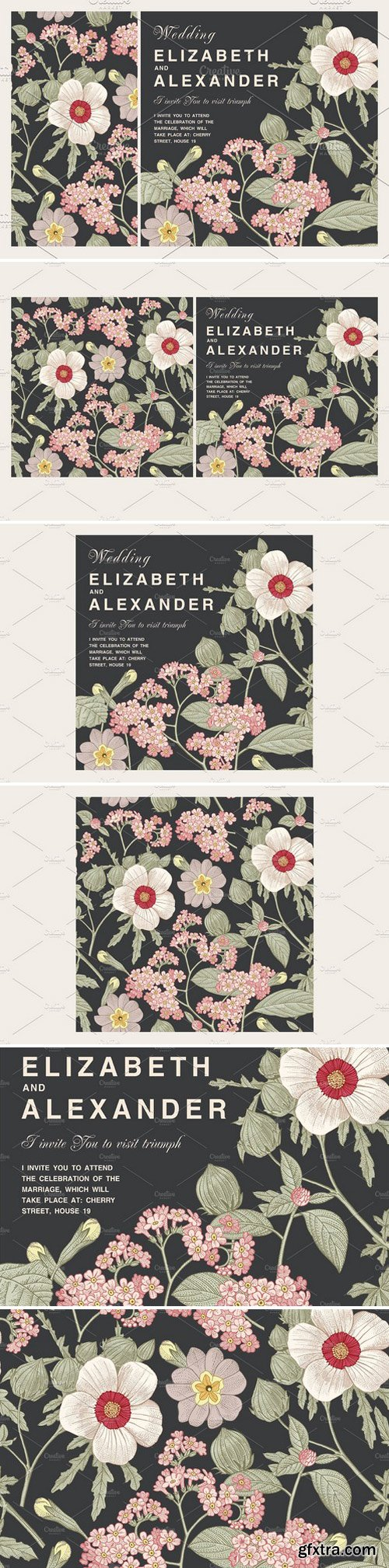 CM - Wedding Flowers Hibiscus Card Frame 2256875