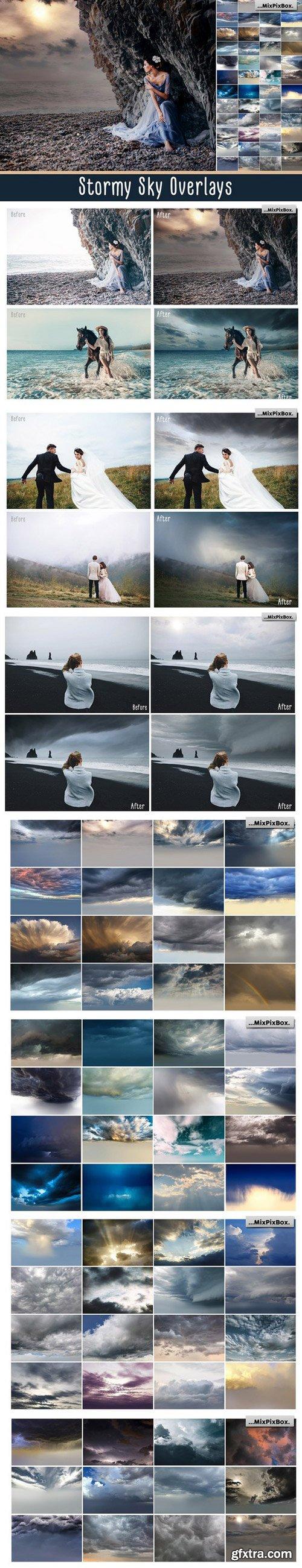 CM - Stormy Sky Overlays 2320169