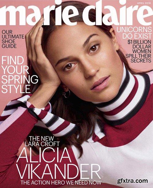 Marie Claire USA - April 2018
