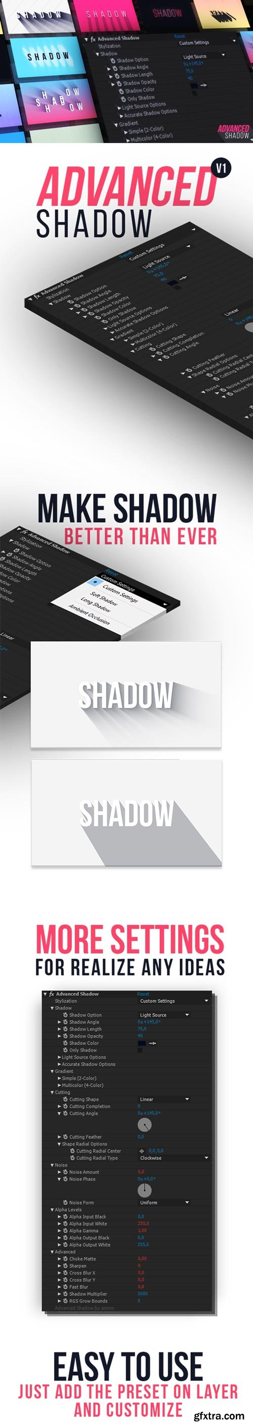 Videohive -Advanced Shadow - 21222364