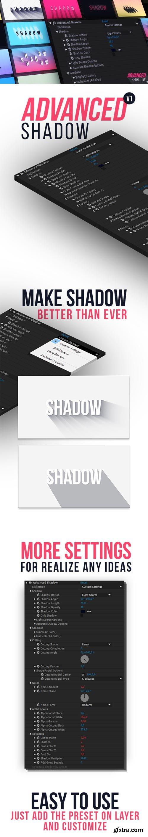 Videohive -Advanced Shadow - 21222364