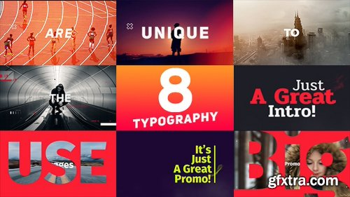 Videohive Typography Promo V8 19359800