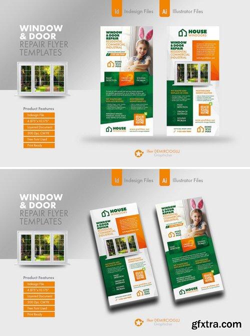 CM - Window & Door Repair Flyer Templates 2339773