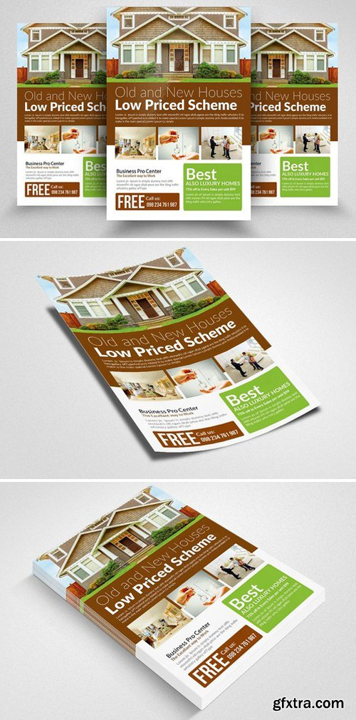 CM - Real Estate Property Flyer Template 2339643