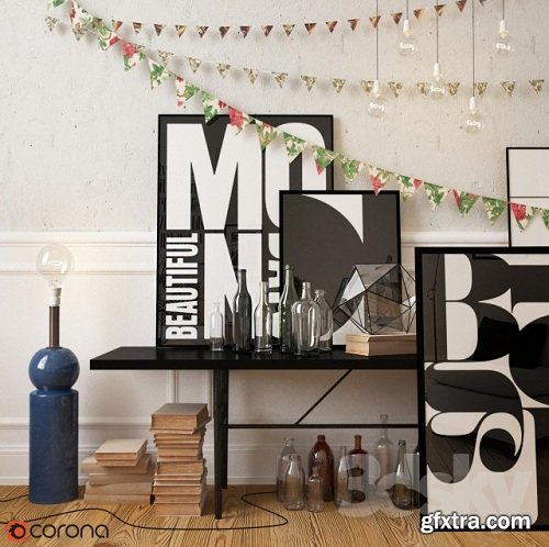 Decorative set (Scandinavia)