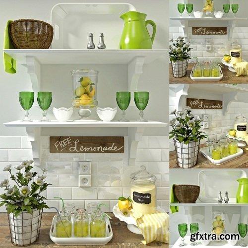 A Set of Kitchen Decor
