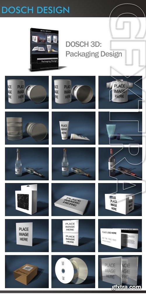 DOSCH 3D: Packaging Design V1
