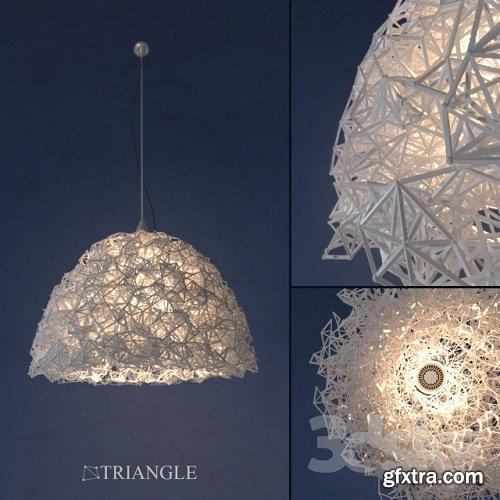 Chandelier Triangle (handmade)