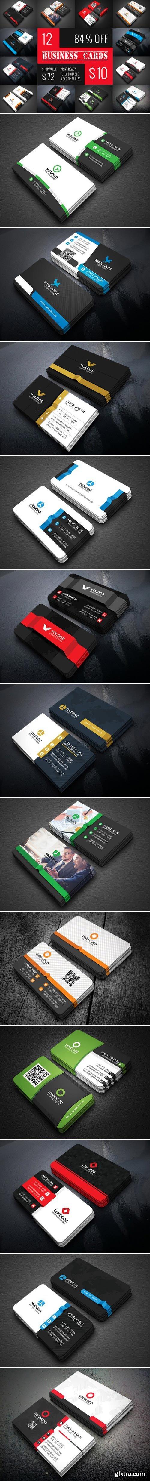 CM - 12 Business Card Bundle 2135991